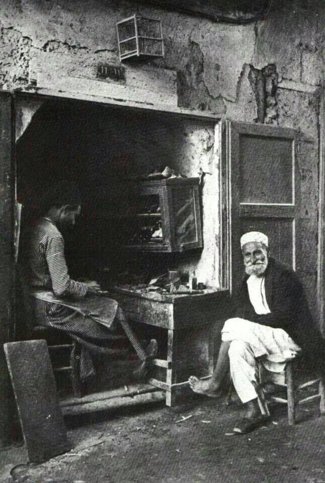 اسكافي في يافا 1925