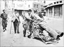 عصابات الهاجاناه تطرد الفلسطينيين من حيفا