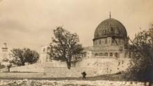 قبة الصخره المُشرفه,صوره قديمه ونادره زمن الامبراطوريه العثمانيه 1860-1900