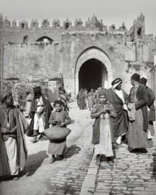 القدس، باب العامود، عام 1900