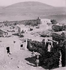 قرية نين الزعبية عام 1934