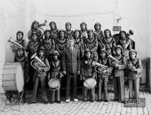 القدس، فرقة دار الايتام الاسلامية عام 1940