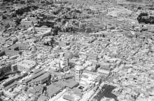 القدس، صورة جوية للبلدة القديمة عام 1931