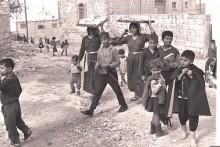 مدينة الطيبة في المثلث الفلسطيني عام 1964