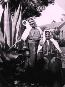 نساء قرية دير القاسي المهجرة عام 1937