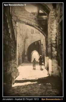 القدس، البلدة القديمة عام 1913