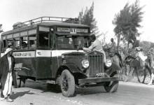 شركة الباصات الوطنية، خط يافا-القدس عام 1935