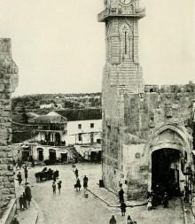 القدس، باب الخليل في عشرينات القرن الماضي