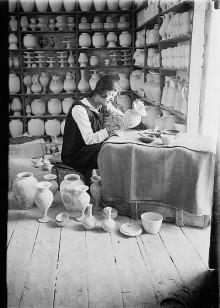 القدس، ورشة أرمنية- فلسطينية لصناعة الخزف في عشرينات القرن الماضي